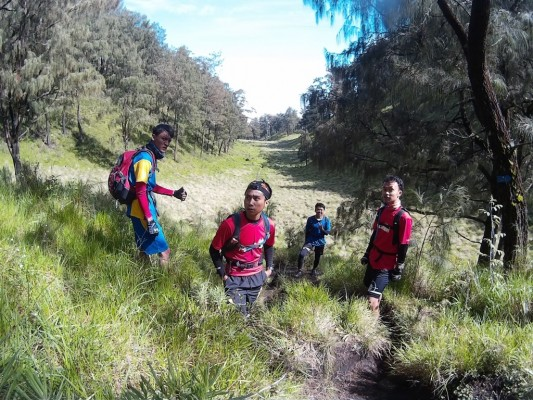 trail run lawu